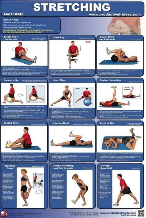 Stretching and moving is important to all of us and can be done anywhere, at home or even in the office. Stretching Before Running Neither Prevents Nor Causes Injury   Lower body, Workout posters ...