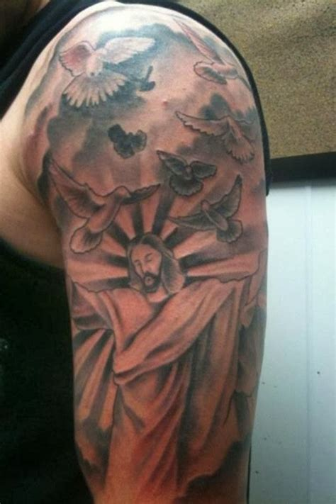 religious  sleeve tattoo ideas  tattoo ideas