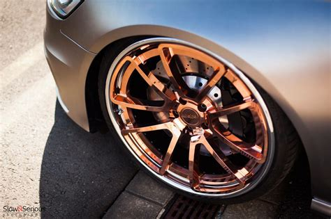 Cars With Gold Rims : #rotiform Rims #copper #gold