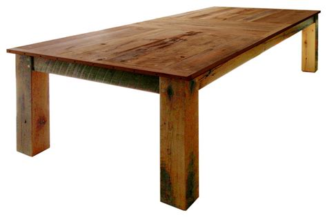 rustic outdoor dining table fernwood designs rustic dining table reclaimed barwood