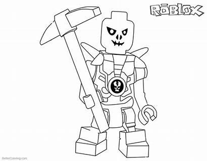 Roblox Coloring Pages Lego Ninjago Printable Skulkin