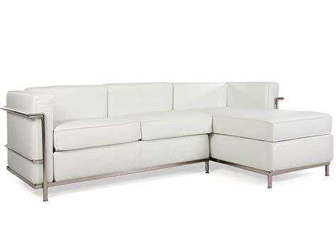 le corbusier canapé lc2 canapé d 39 angle le corbusier blanc