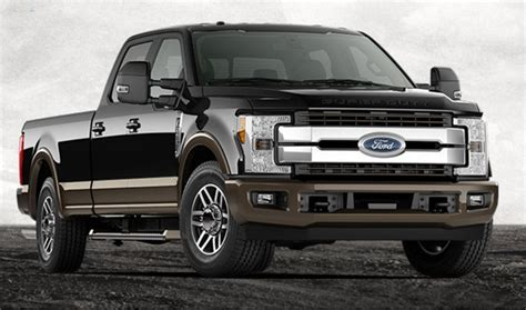 new truck models 2017 ford f 250 king ranch review features price new
