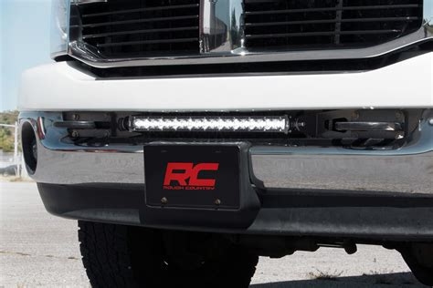 20in led light bar bumper mounting