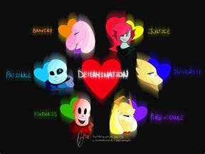Undertale Traits Human Soul