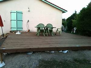 Terrasse Avec Palette : fabriquer une terrasse en bois je fais moi m me ~ Melissatoandfro.com Idées de Décoration