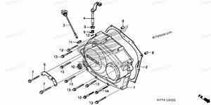 Honda Motorcycle 2005 Oem Parts Diagram For Right