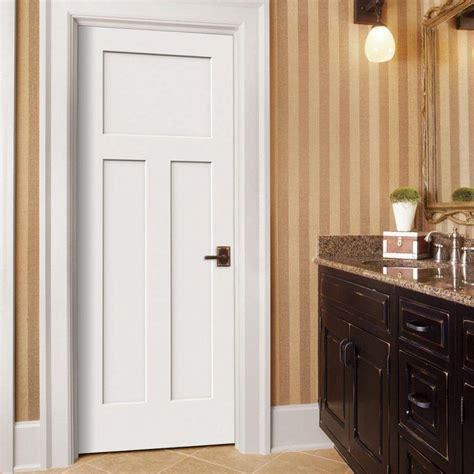 3 panel interior doors home depot jeld wen door craftsman smooth 3 panel solid primed