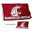 Washington State University Flag and Double-Sided ...