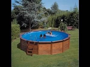 Piscine Bois Ronde : installation piscine hors terre bois ronde youtube ~ Farleysfitness.com Idées de Décoration