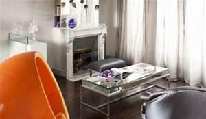 Quelle Couleur Dans Le Salon On Ose Le Orange Ct Maison