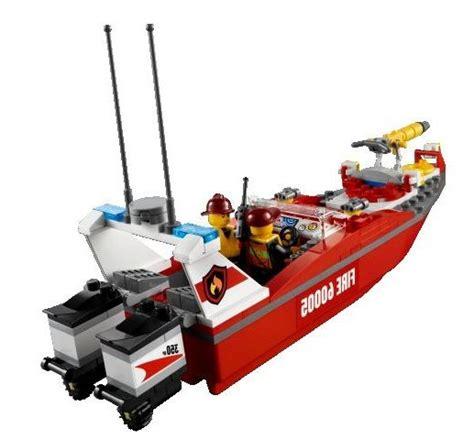 Fireboat Mod by Lego 60005 City Boat I Brick City
