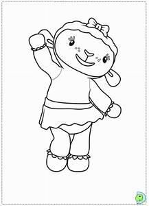 Doc Mcstuffins Lambie Coloring Pages - Coloring Home