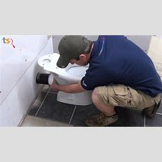 Tommy's Trade Secrets  How To Install A Toilet Pan