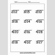 13 Best Images About Division Worksheets On Pinterest  To Work, Math And Remainders