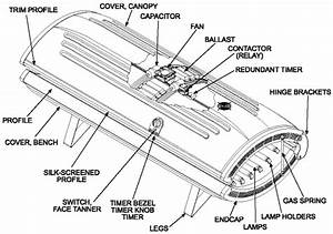 Wiring Diagram For 220v Tanning Bed