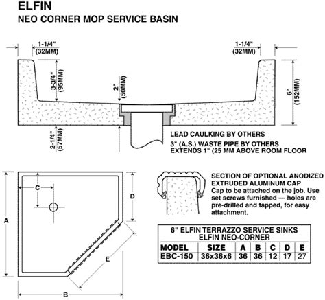 Mop Sink In Dimensions by Janitor Sink Dimensions Befon For