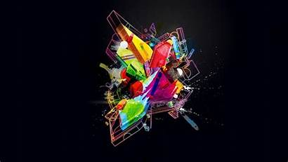 Graphic Abstract 3d Computer Graphics Digital Space