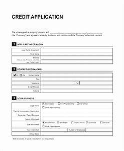 41 application templates in pdf free premium templates With generic credit application template