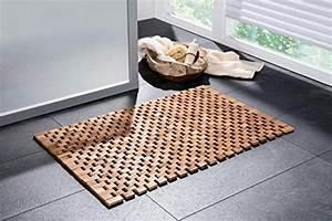 Fußmatte Im Boden Eingelassen : badematte holz badvorleger holz fu matte holz sauna luxus ~ Frokenaadalensverden.com Haus und Dekorationen