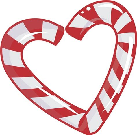 Polish your personal project or design with these candy cane transparent png images, make it even more personalized and more attractive. Candy Cane Heart Vector Illustration | AnnTheGran