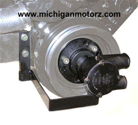 crank mount raw water pump