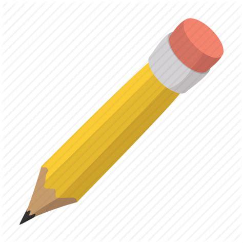 cartoon character childish cute eraser  pencil icon