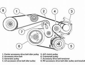 2008-2009 Ford Escape Mercury Mariner 3 0l Serpentine Belt Diagram