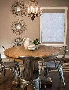Table Salle A Manger Ronde : salle a manger table ronde table rallonge maisonjoffrois ~ Teatrodelosmanantiales.com Idées de Décoration