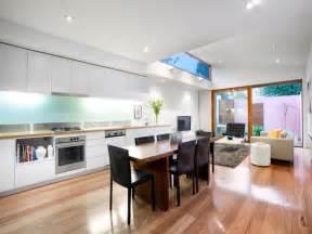 living kitchen ideas modern kitchen living kitchen design using floorboards kitchen photo 468735