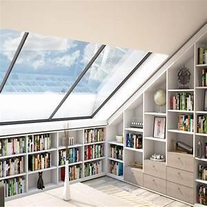 Regal Für Dachschräge : regal f r die bibliothek meine m belmanufaktur ~ Michelbontemps.com Haus und Dekorationen