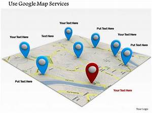 0714 Use Google Map Services Diagram Image Graphics For Powerpoint