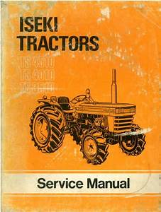 Iseki Tractor Ts3510 Ts4010 Ts4510 Workshop Service Manual