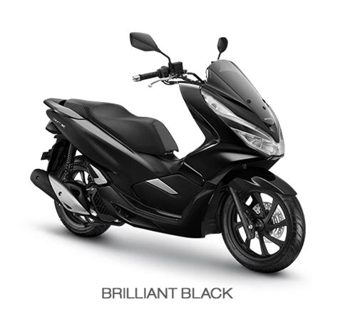 Pcx 2018 Warna Hitam by Warna Honda Pcx 150 2018 Hitam Brilliant Black Semarmoto