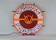 All Things Jeep Willys Sales Service Jeep Neon Sign