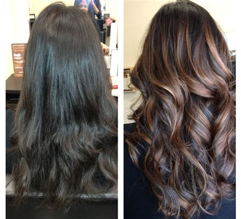 What Is The Difference Between And Brown Hair by What Is The Difference Between Ombre And Balayage