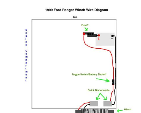 Winch Wiring Ranger Forums The Ultimate Ford