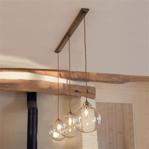 Pendant Kitchen Lighting Ideas - holborn triple pendant track in antiqued brass lighting accents pinterest pendant track