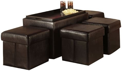 ottoman with shelf underneath coffee table with storage ottomans underneath whyrll