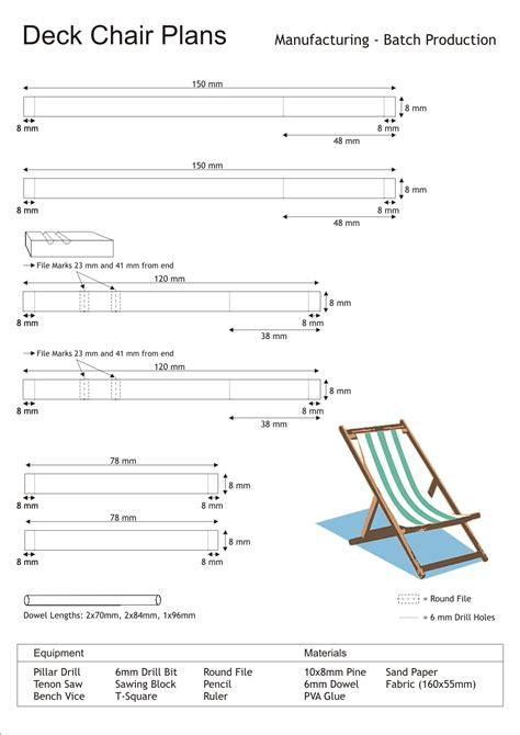 titanic deck chair plans diy deck chair plans plans free