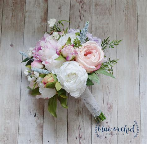 silk wedding bouquet bridal bouquet rose peony hydrangea
