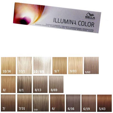 Illumina Color Wella Wella Illumina Color 60 Ml Freie Farbwahl Bei Pillashop