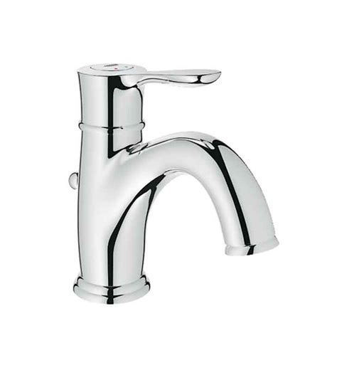 fluid faucets single lever grohe 23305000 parkfield single handle faucet in chrome