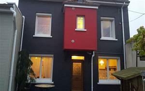 Isolation Par Exterieur : isolation par l 39 ext rieur d 39 une maison deux tages uniso ~ Melissatoandfro.com Idées de Décoration
