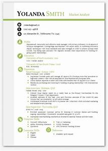 cool looking resume modern microsoft word resume template With cv template word