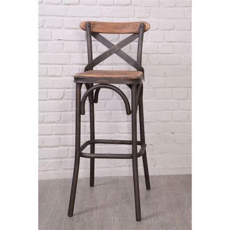chaise de bar cdiscount chaise de bar loft nola casita achat vente tabouret de bar cdiscount