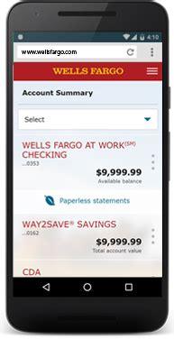 image result  mobile website  banking wells
