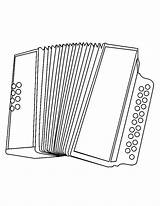 Coloring Accordion Pages Instruments Musical Instrument Accordian Sheets Printable Hellokids Didgeridoo Colouring Much Paper Colorbook sketch template
