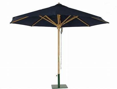 Outdoor Umbrellas Teak Parasol Modern Westminster Diameter