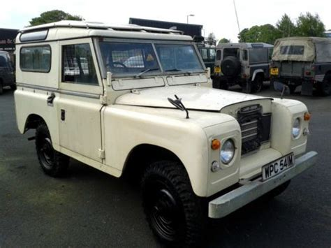 land rover safari roof buy new 1974 landrover series 3 genuine station wagon with